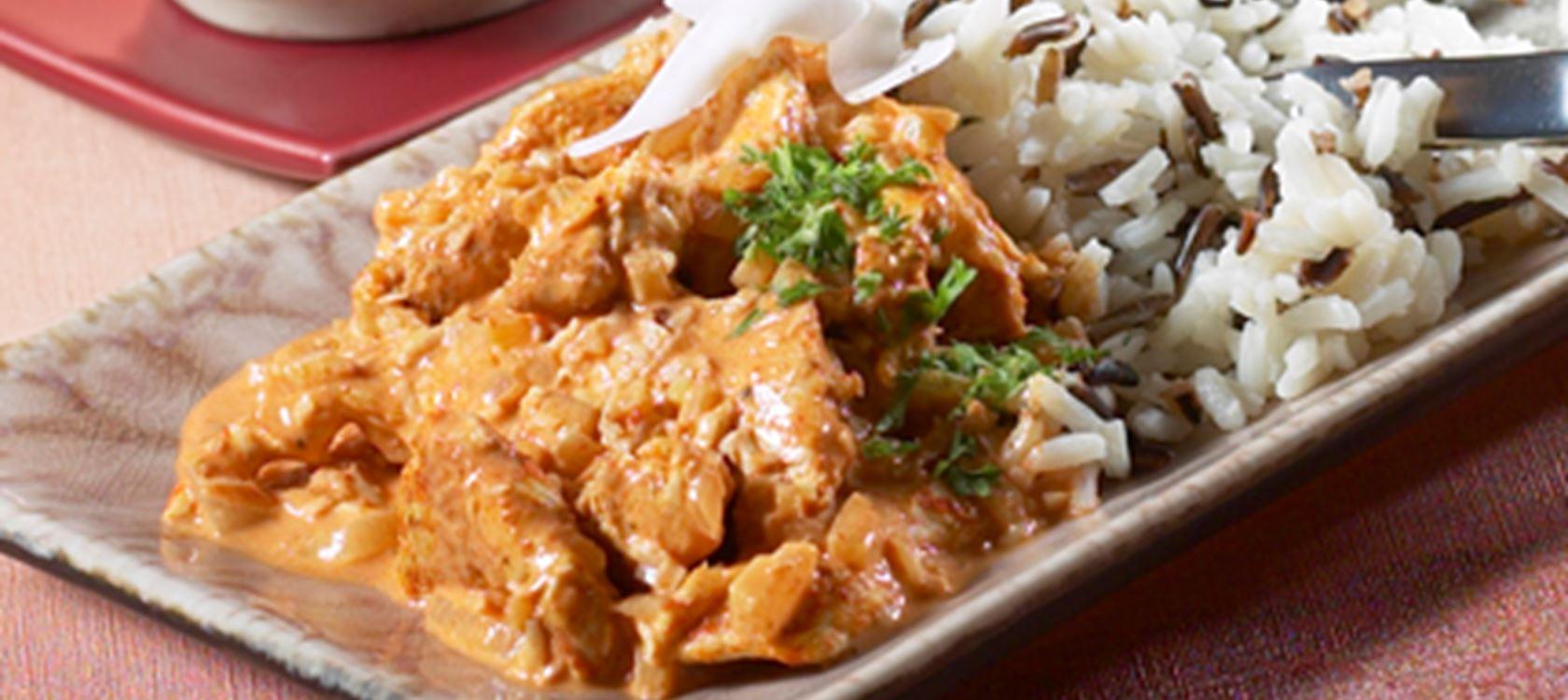 Curry-kookosbroileri