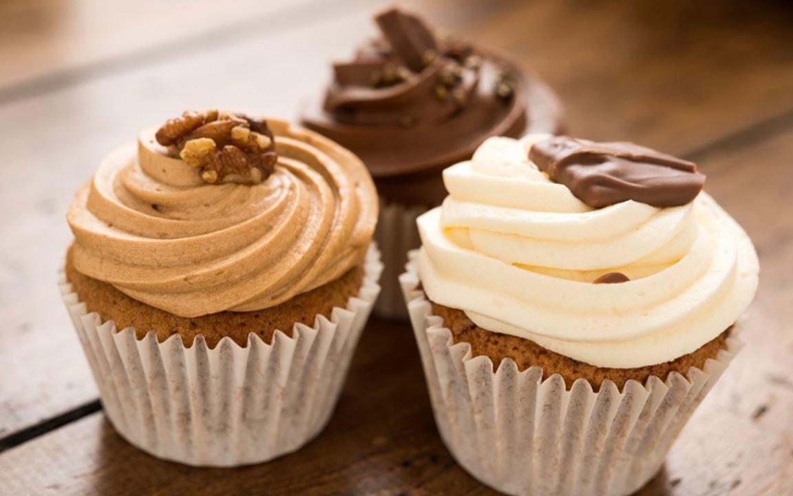 Kahvinmakuinen cupcake-kuorrutus