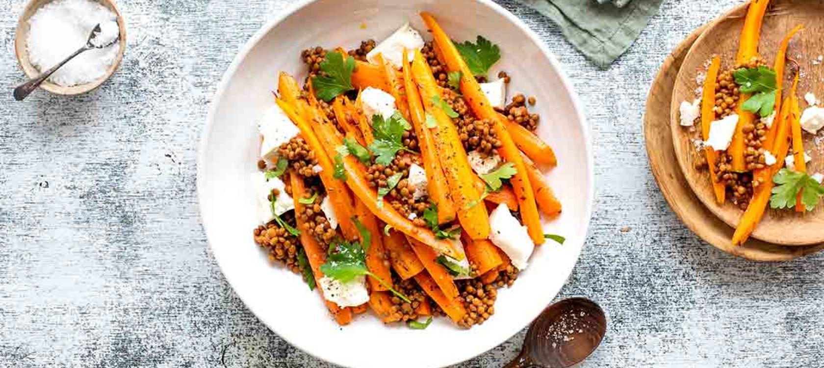 Porkkanat uunissa
