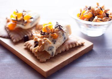Suklaa-pähkinäkompotti