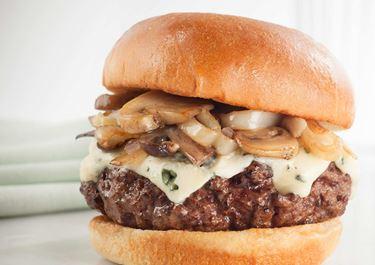 Castello® Burger Blue sienillä