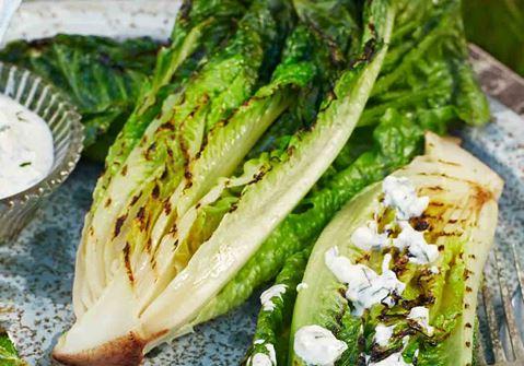 Grillattu salaatti