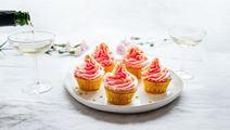 Champagne cupcakes eli samppanjamuffinssit