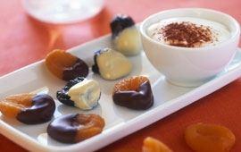 Suklaakuorrutetut hedelmät