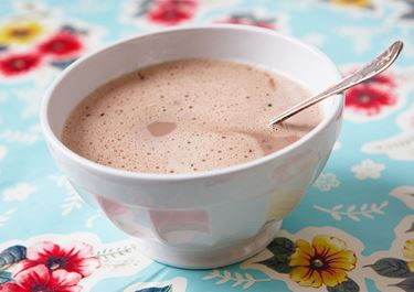 Kahvi suklaamaidolla