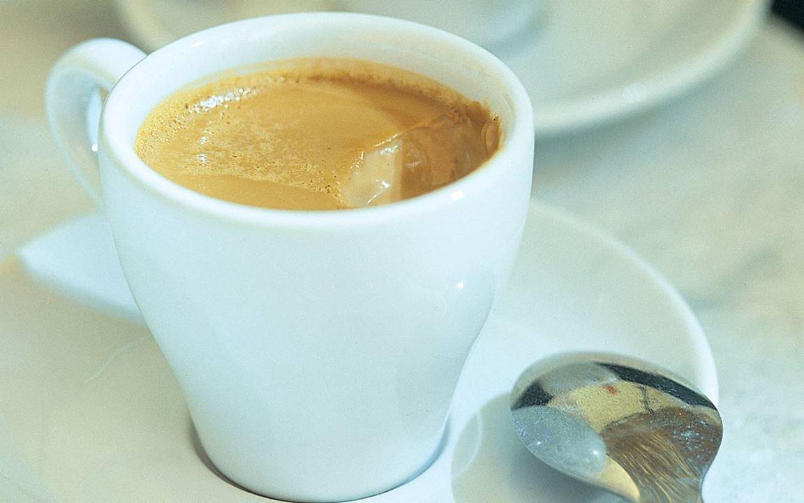 Espressopannacotta