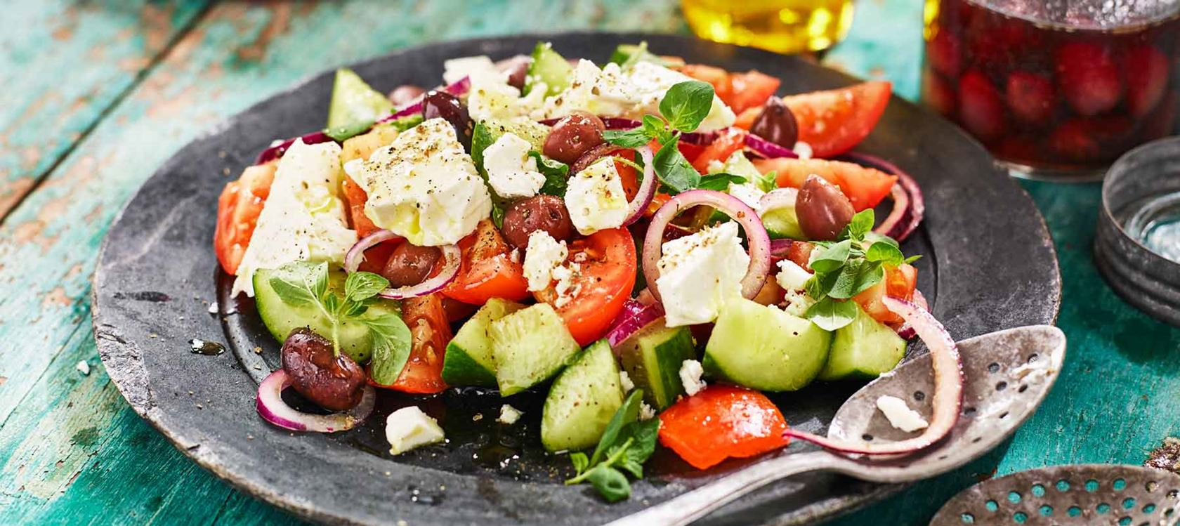 Välimerellinen salaatti