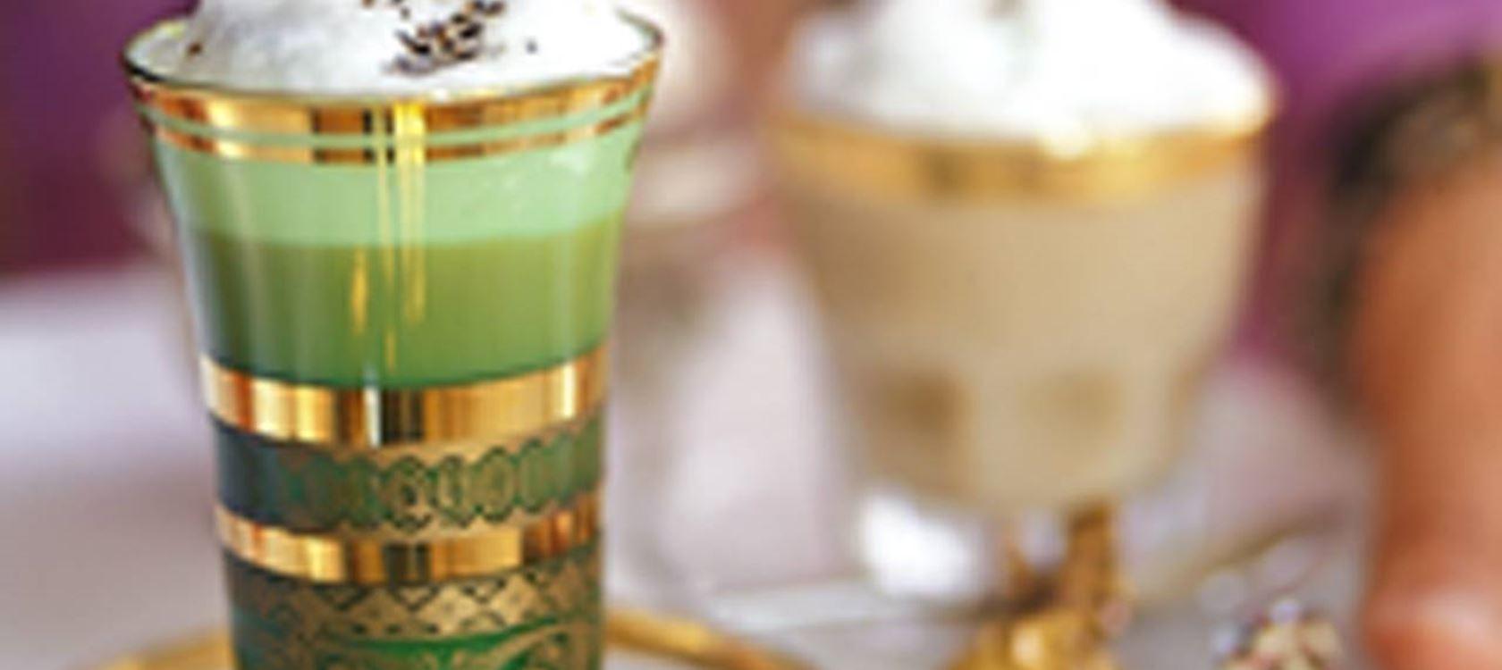 Chai-teetä maitovaahdolla