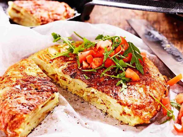Perunamunakas eli espanjalainen tortilla