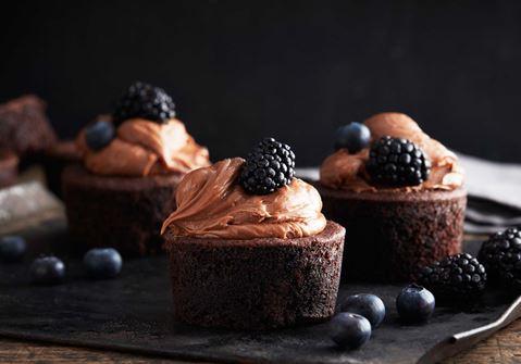 Punajuuri-suklaamuffinssit