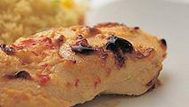 Broileria ja Apetina-juustoa