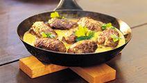 Intialaiset garam masala -lihapullat