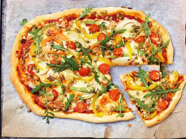 Herkullinen kasvispizza