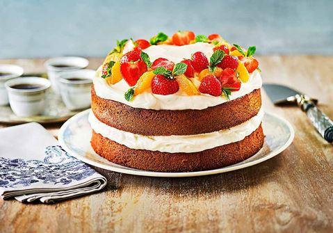 Τούρτα - Κέικ με βουτυρόκρεμα και μέλι