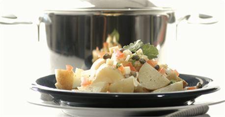 Σαλάτα με μικρές πατάτες