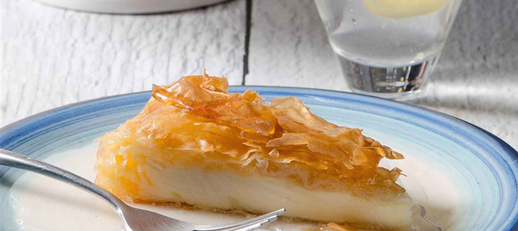 Σιροπιαστό Cheesecake