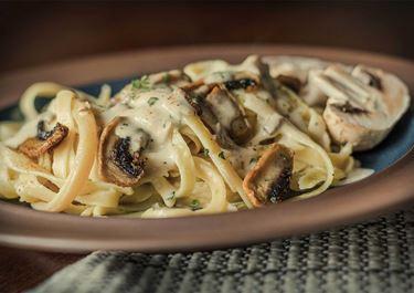 Ζυμαρικά με μανιτάρια και Arla Φρέσκο Τυρί Κρέμα