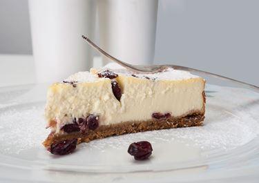 Ψητό Cheese Cake με Arla Φρέσκο Τυρί Κρέμα & Cranberries