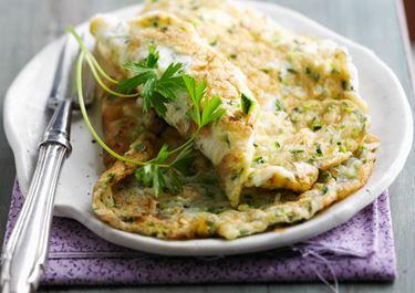 Ομελέτα με διπλό τυρί