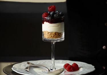 Cheesecake σε ποτήρι