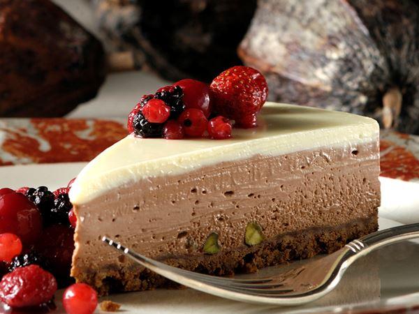 Τσιζ Κέικ με σοκολάτα