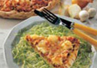 Πίτσα με κάρυ, ανανά και Arla Mozzarella