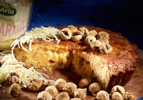Αλμυρό κέικ με τυρί