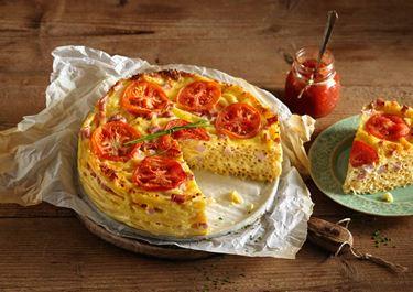Μακαρονόπιτα με τυριά