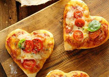 Σπιτική πίτσα Αγίου Βαλεντίνου