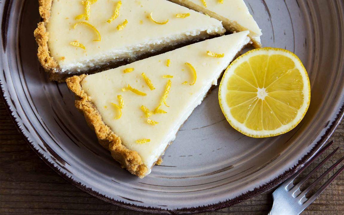 Εύκολο Cheese Cake λεμόνι, με Arla Φρέσκο Τυρί Κρέμα