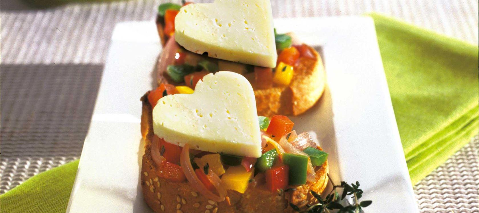 Πικάντικη μπρουσκέτα