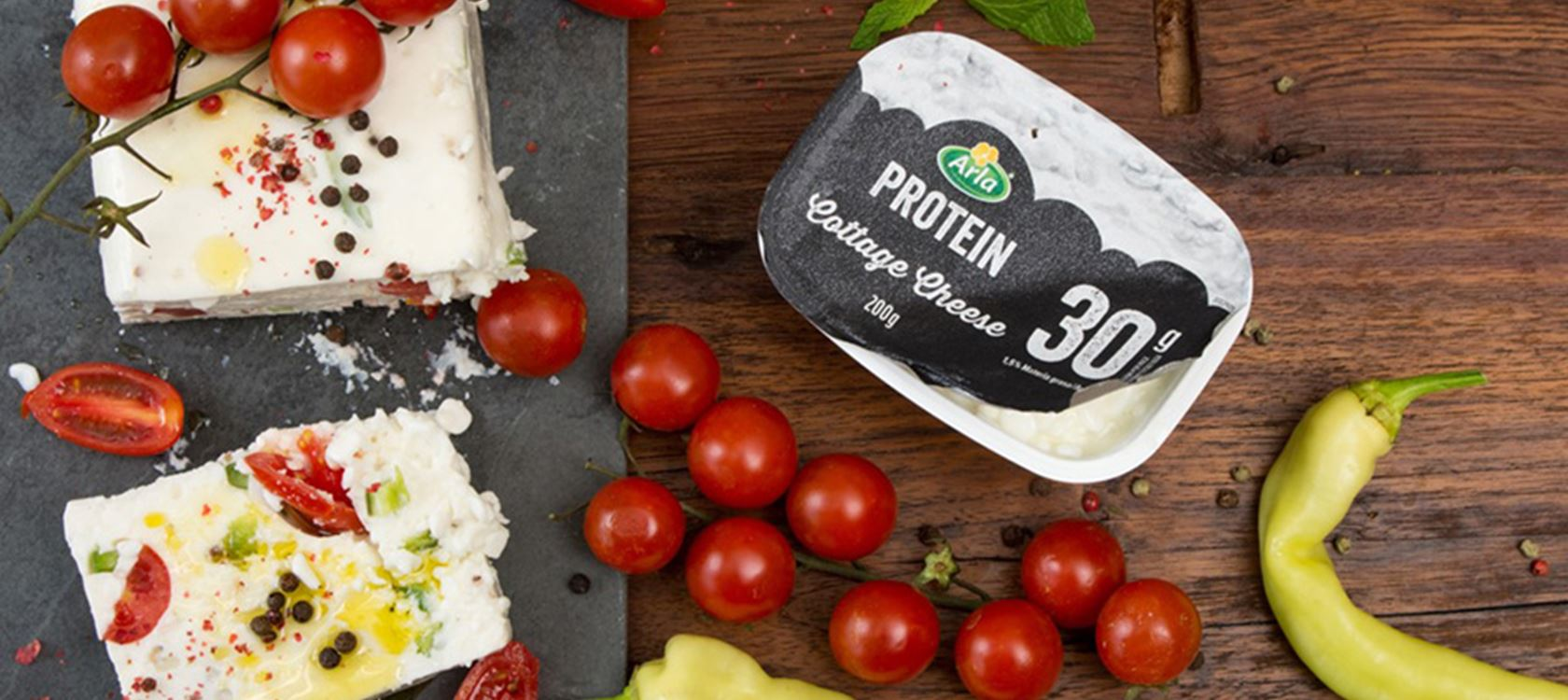 Κρέμα με Arla Protein cottage cheese