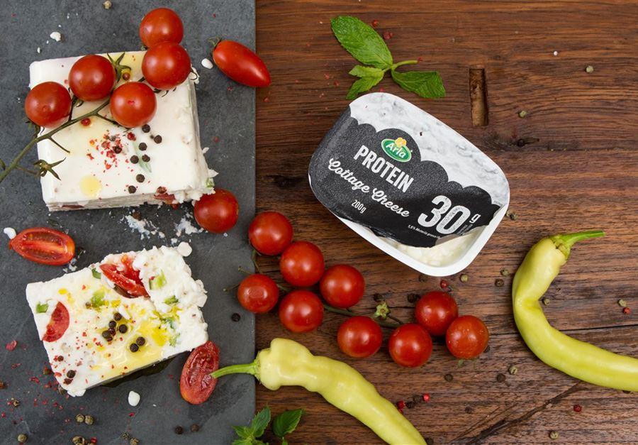 Κρέμα με Arla Protein cottage cheese