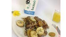 Lactosevrije wentelteefjes met banaan