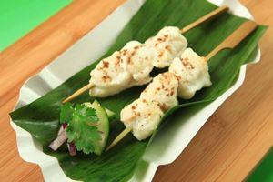 Indiase visspiesjes met yoghurt