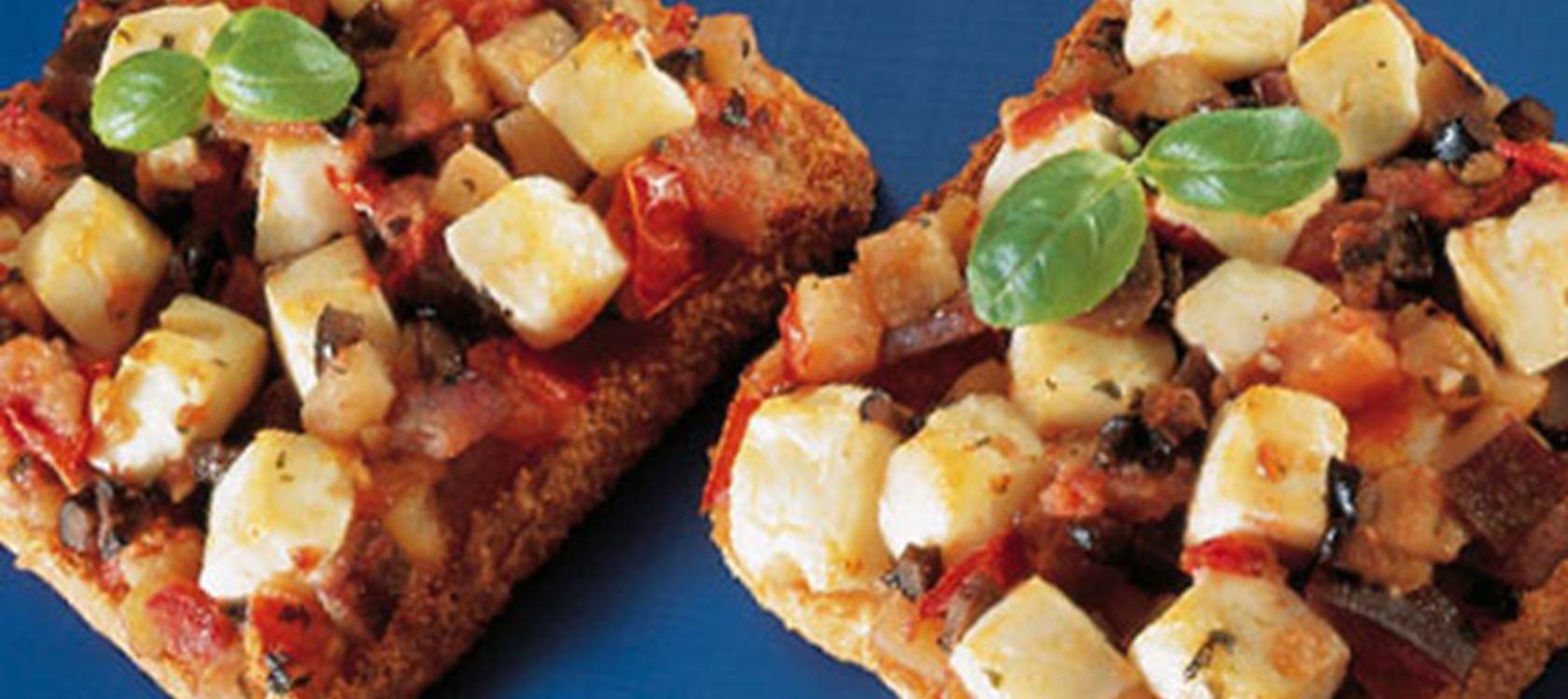 Toast Mediterrane stijl