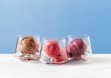 Lactosevrije frozen yoghurt ijs