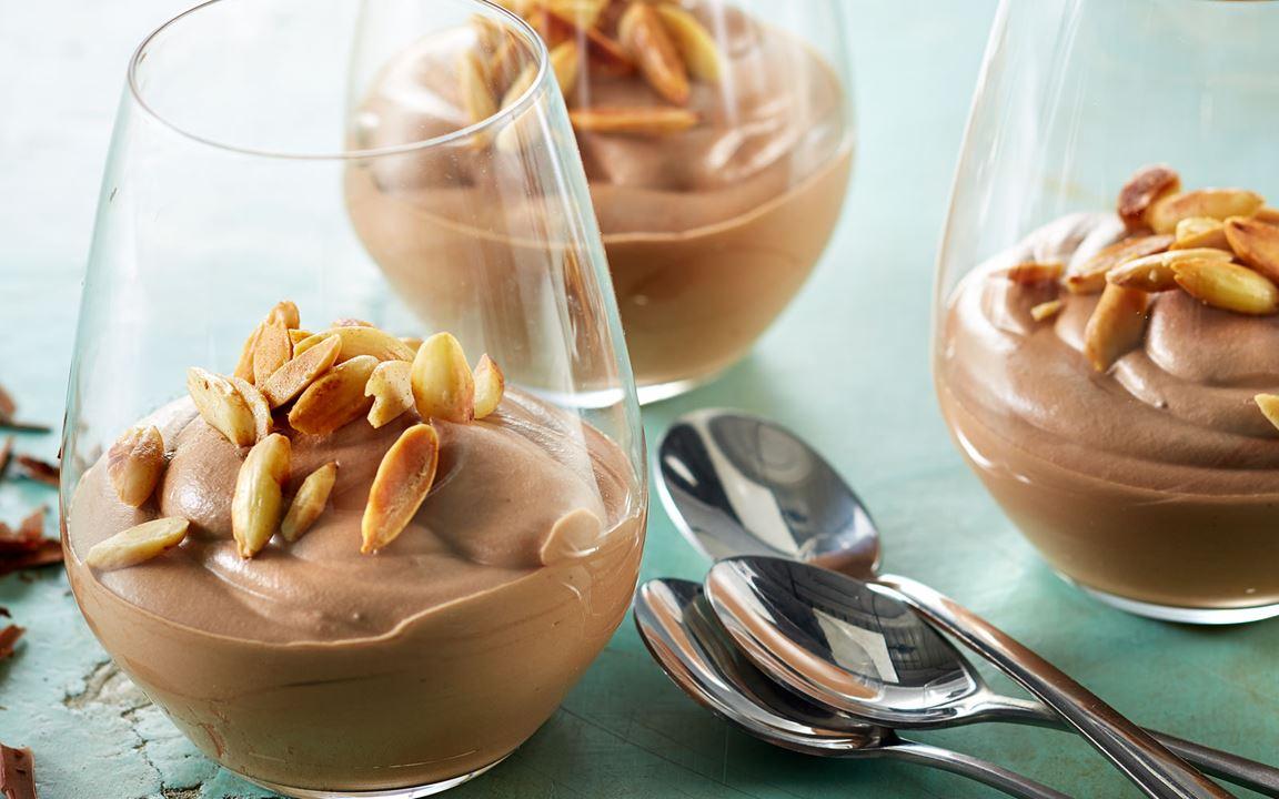 Lactosevrije chocolademousse