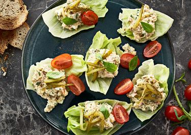 Kruidige tonijnsalade