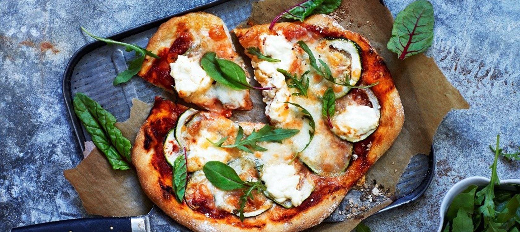 Kefir Spelt Pizza Deeg