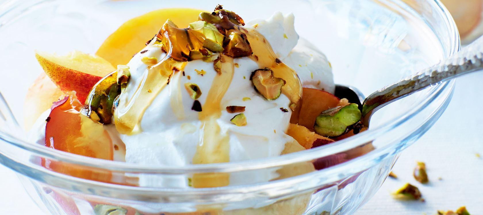 Lactofree yoghurt met fruit en honingnoten