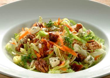 Salade met Danablu en vijgen