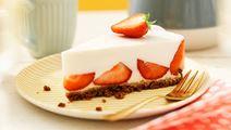 Lactosevrije vanilleyoghurttaart