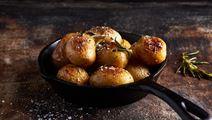 Rosmarinbakad potatis