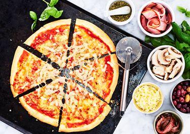 Pizza – grundrecept