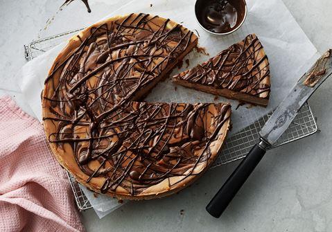 Cheesecake med Baileys och choklad