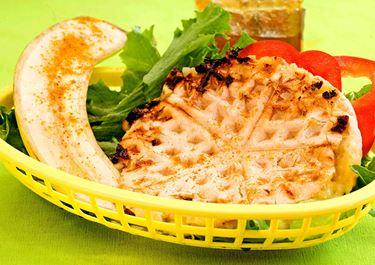 Toast med banan och curry