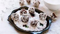 Chokladbollar med julkryddor