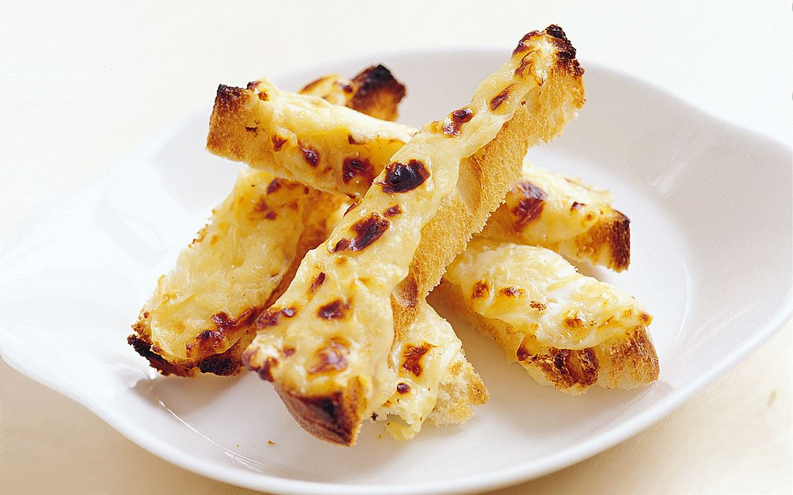 Gratinerat bröd