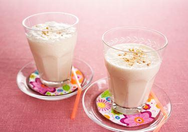 Snabb smoothie med smak av rabarber